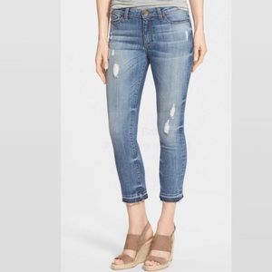 """Kut from the Kloth """"Reese"""" distressed ankle Jeans"""